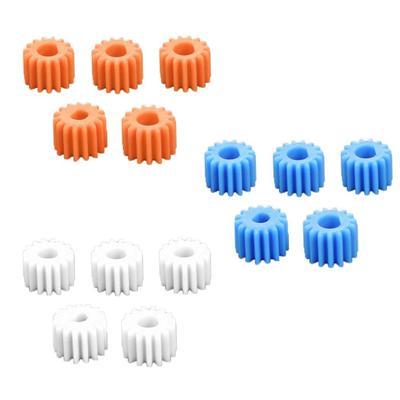 10pcs Plastic Single-layer  Gear 62-2A 62T 0.5 Modulus For DIY Motor Gear New