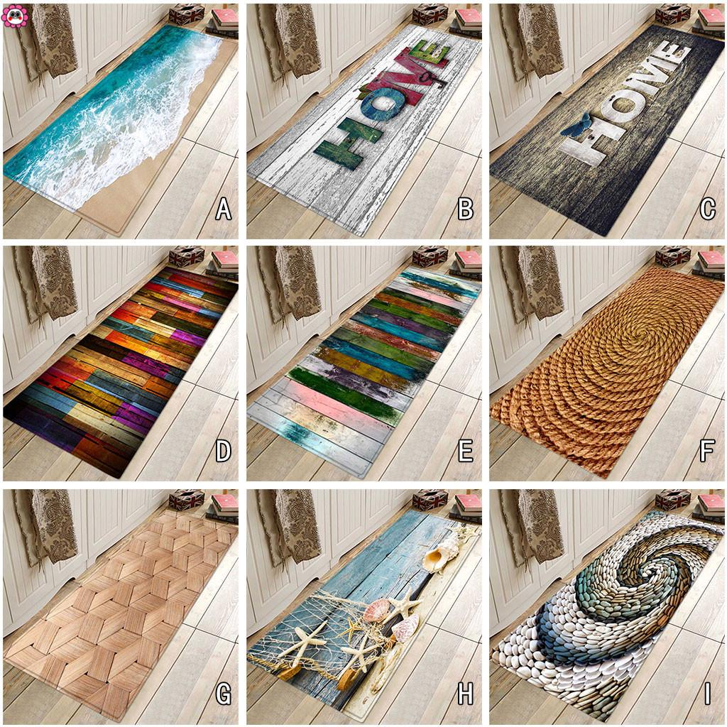 40 x 120 см ковром коридоре Doormat анти - скольжения ковер поглощать воду кухня мат – купить по низким ценам в интернет-магазине Joom