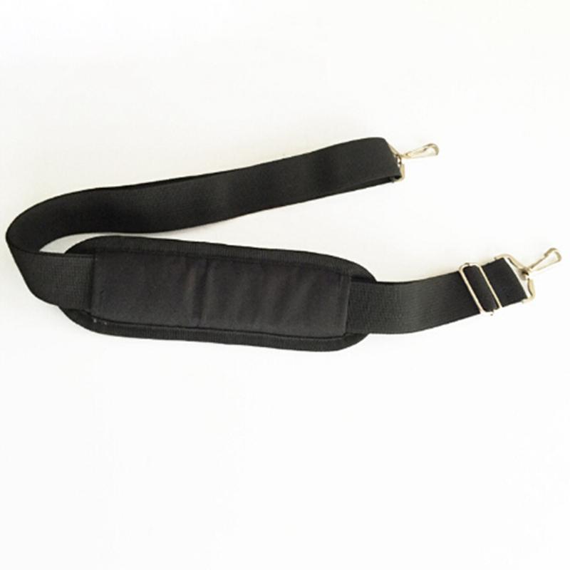 Shoulder Strap Strong Black Nylon Briefcase Laptop Belts Bags Accessories 150CM