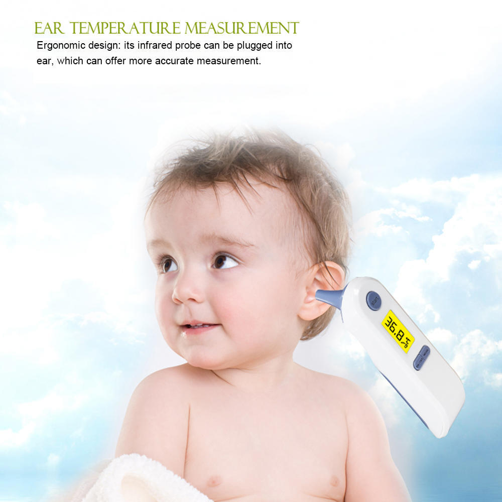 Portable Baby Adult Digital Lcd Forehead Ear Infrared Ir Thermometer Multi Function Non Contact Body Gun For Kids Adu Buy At A Low Prices On Joom E Commerce Platform
