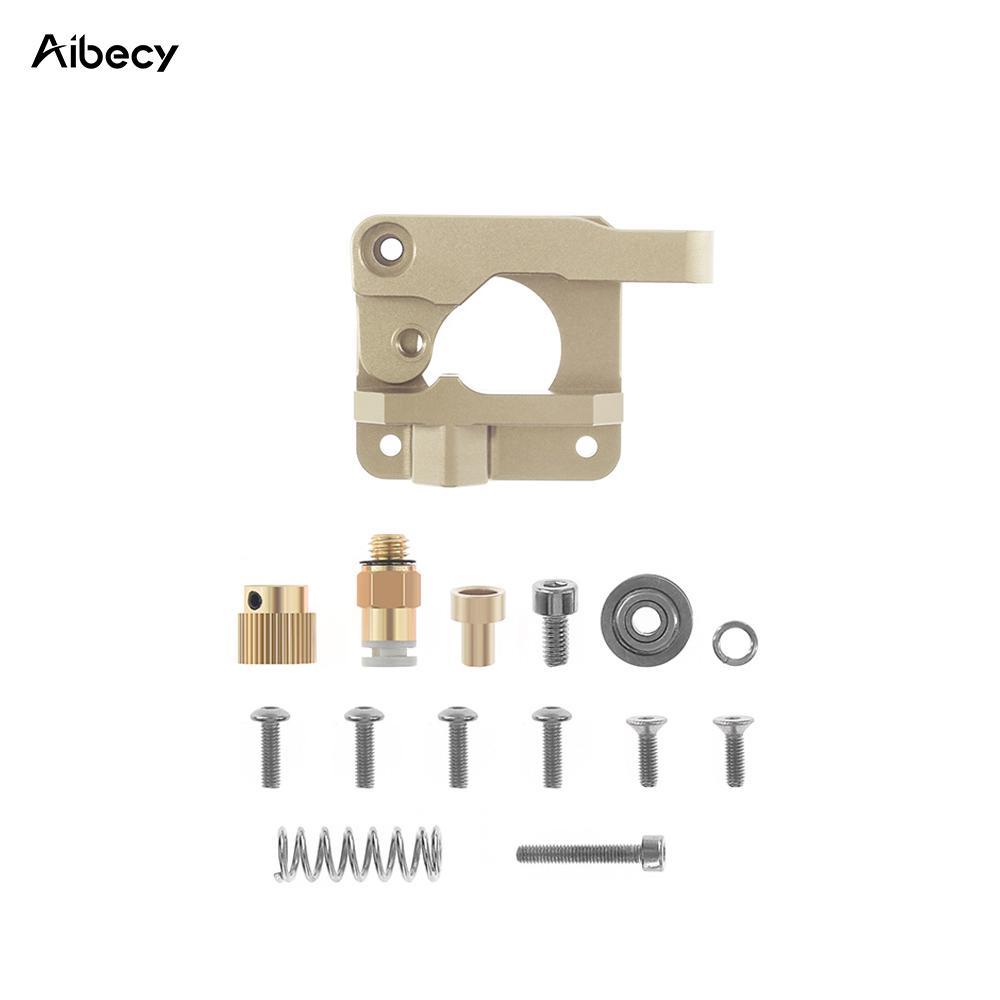 Extruder Aluminum feeder kit with adjustable bolt,Used for 1.75mm filament of 3D printer MK8 bowden extruder frame