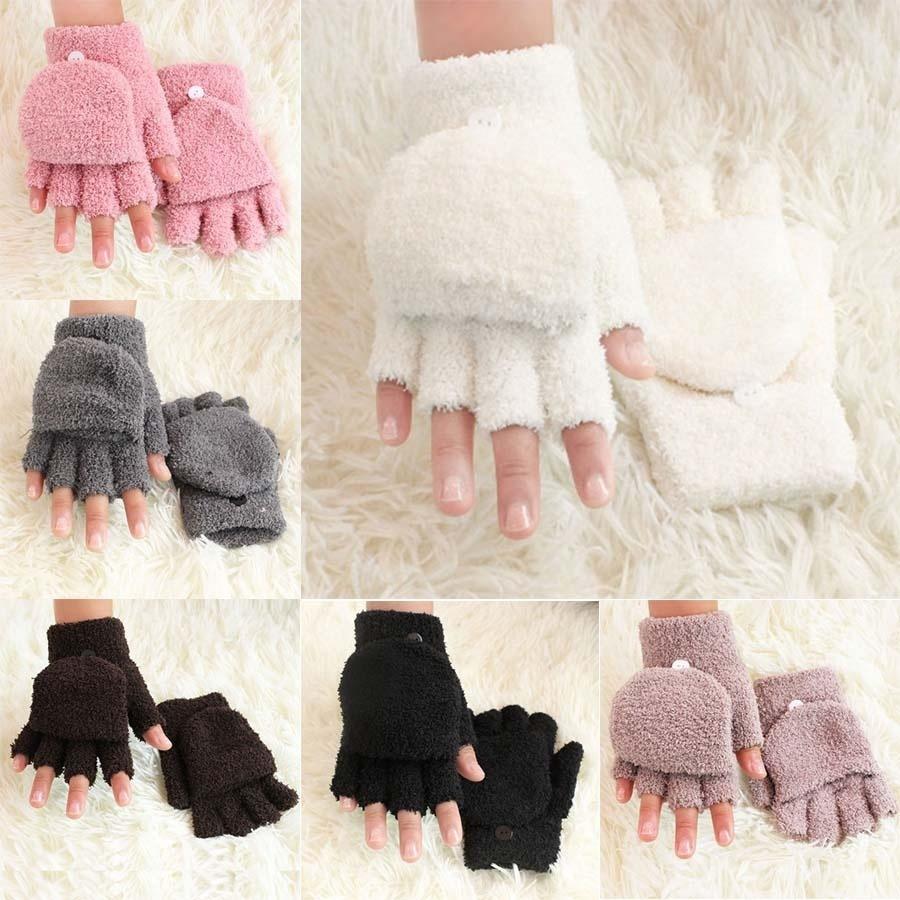 Calentadores de muñeca la muñeca calientes invierno guantes sin ...