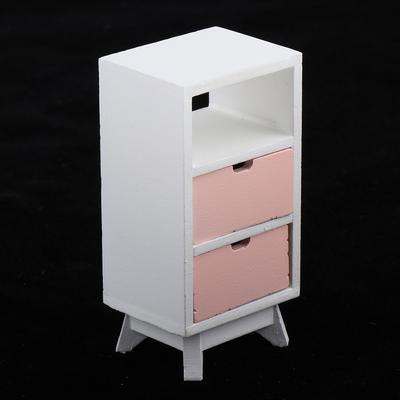 Dolls House Miniature 3-tier Cabinet Cupboard Living Room Furniture for 1:12