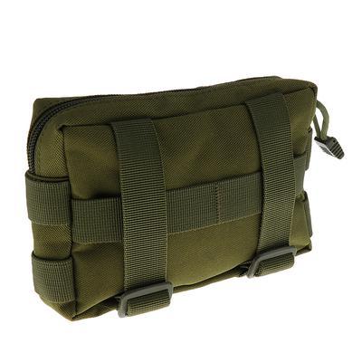 Outdoor Travel Nylon Molle Tactical Waist Bag Phone Belt Bum Hiking Pack Purse