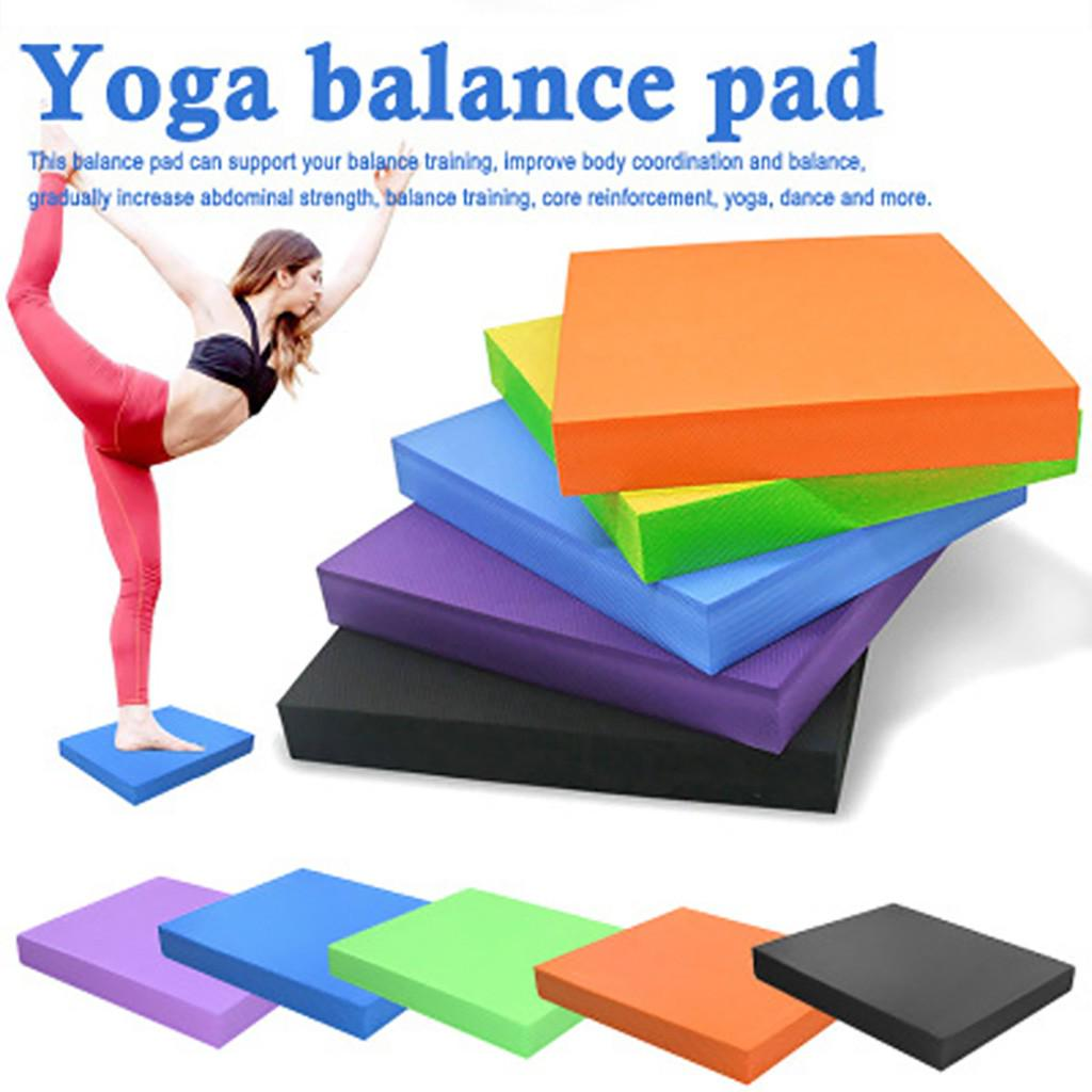 Gym Soft TPE Ankle Travel Adults Kids Balance Foam Pad Yoga For Physical Therapy