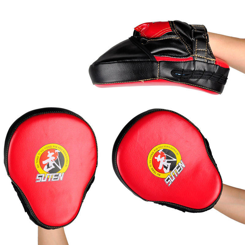 Taekwondo Punching Training Boxing Pad PU Equipment Kick Leather 1 Pcs