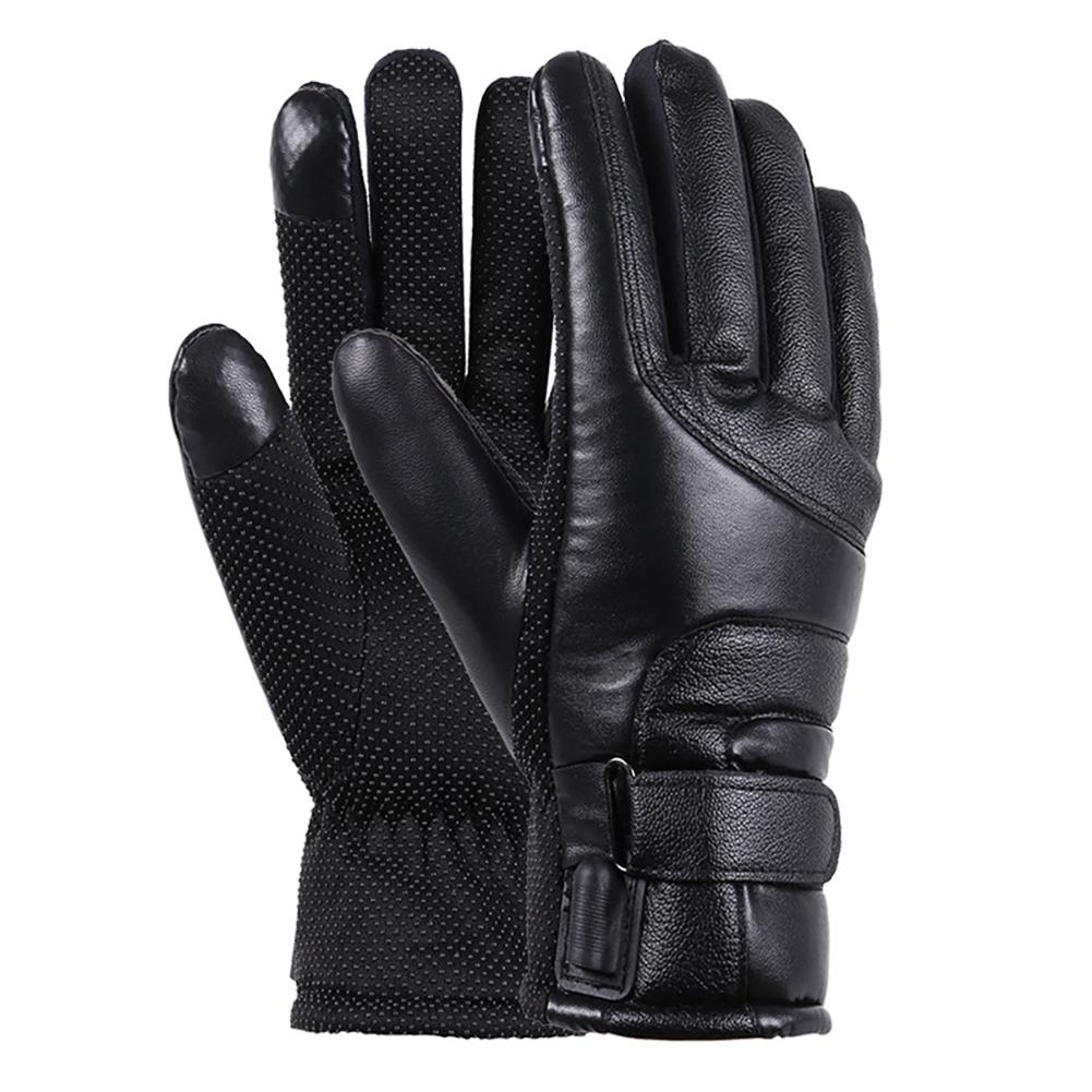 Unisex Winter Windproof Insulated Gloves Outdoor Warmer Thermal Riding Mittens