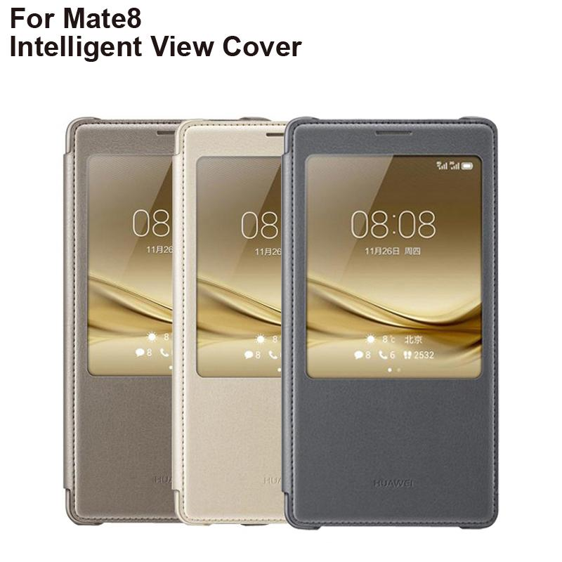 Huawei Original Smart Flip Cover Case For Huawei Mate8 Mate 8 Housing Intelligent Sleep Function-buy at a low prices on Joom e-commerce platform