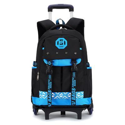 14e9eee884c0 Дети тележка портфели для детей мальчики путешествия ортопедические  первичной Mochila подросток Bookbags