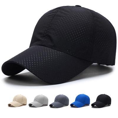 275fe82ad0a Woman Summer Snapback Quick Dry Mesh Baseball Cap Sun Hat Bone Breathable  Hats W