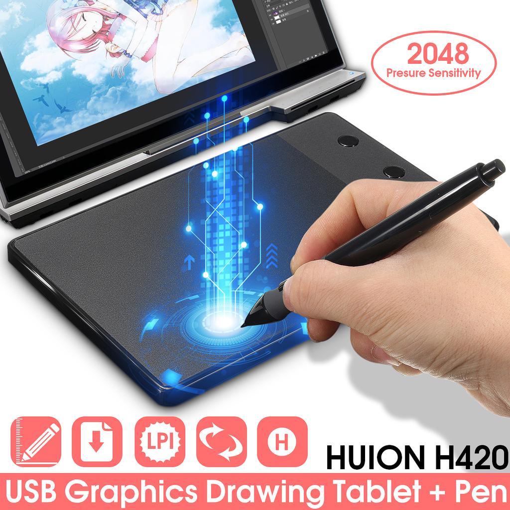 Graphics drawing tablet 4x2 23