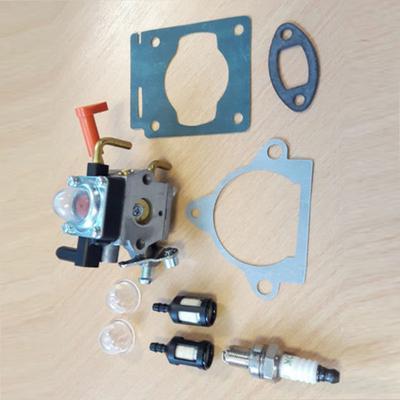 ANTO 753-06220A Carburetor for Troy-Bilt TB575EC TB539ES TB590EC Trimmers 753-06220 with Air Filter Fuel Line Filter Tune Up Kit