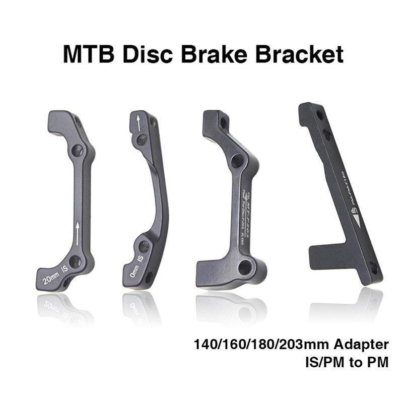 MTB Ultralight Bracket Disc Brake Mount Adapter  For 140 160 180 203mm Rotor