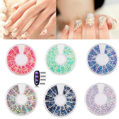 1 Colored Resin Box Nails Decoration 3d 2 Mm3 Mm4 Mm Mixed Nail