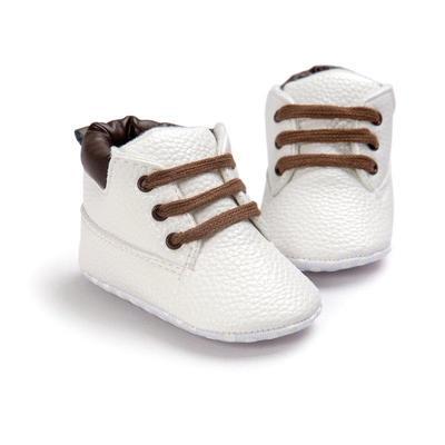 6f5ec716e Мальчики теплый мягкий единственным малышом обувь младенческой высокой Топ  противоскользящая кроссовки