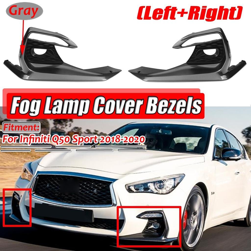 Headlights Front Lamp Bezel Covers Chrome Trims For Lexus Gx470