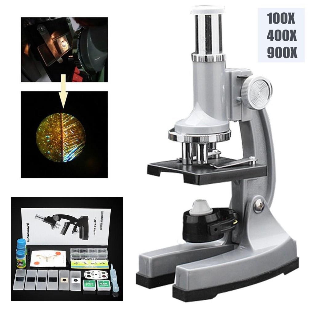 Nostalgic 100x 400x 900x Magnification Student Biological Education