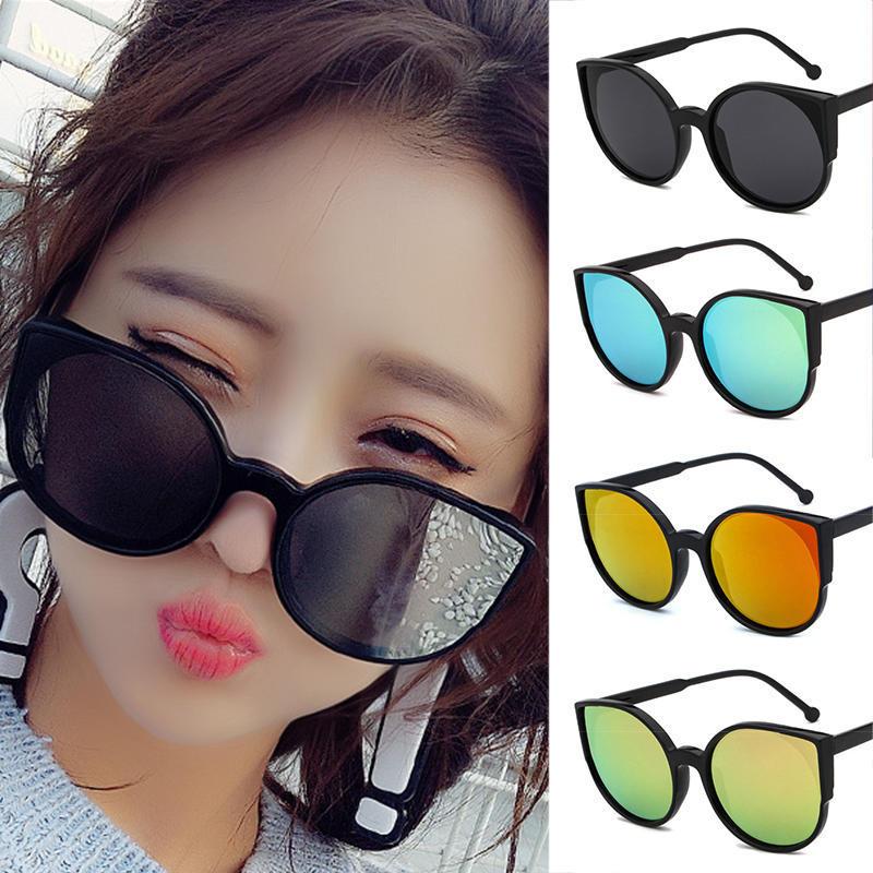 潮流猫眼太阳镜5126 韩版百搭墨镜 时尚炫彩太阳眼镜K7107