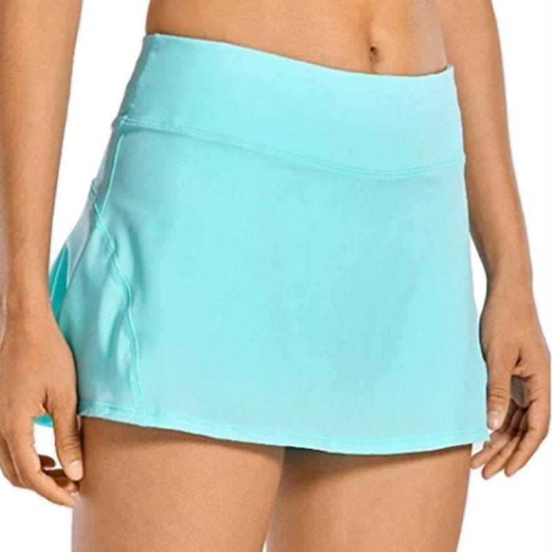Womens Pleated Skater A-line Athletic Skort Tennis/&Golf Active Mini Skirt Shorts