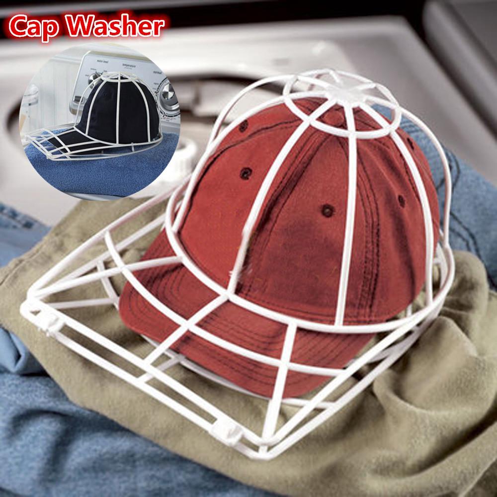 Cap Washing Cage Baseball Ball cap Hat Washer Frame Hat Shaper Drying RacGK