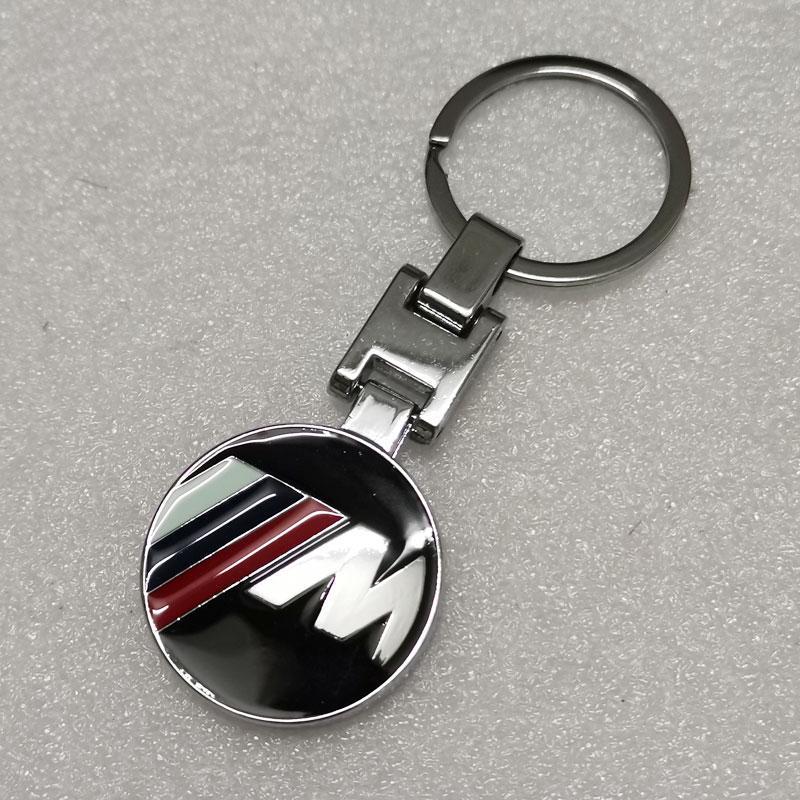Chevrolet Metal Keychain Gift Logo Ring Key Fob Car Holder Metallic