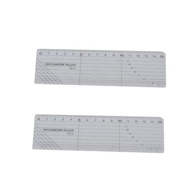 """4/""""x0.5/"""" Acrylic Sewing Quilting Ruler Clear Marking Ruler for Sewing Craft"""
