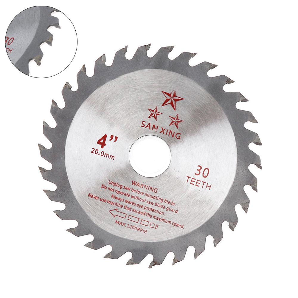 110mm Carbide Circular Saw Blade Disc For Cutting Wood Woodworking Rotary Tool