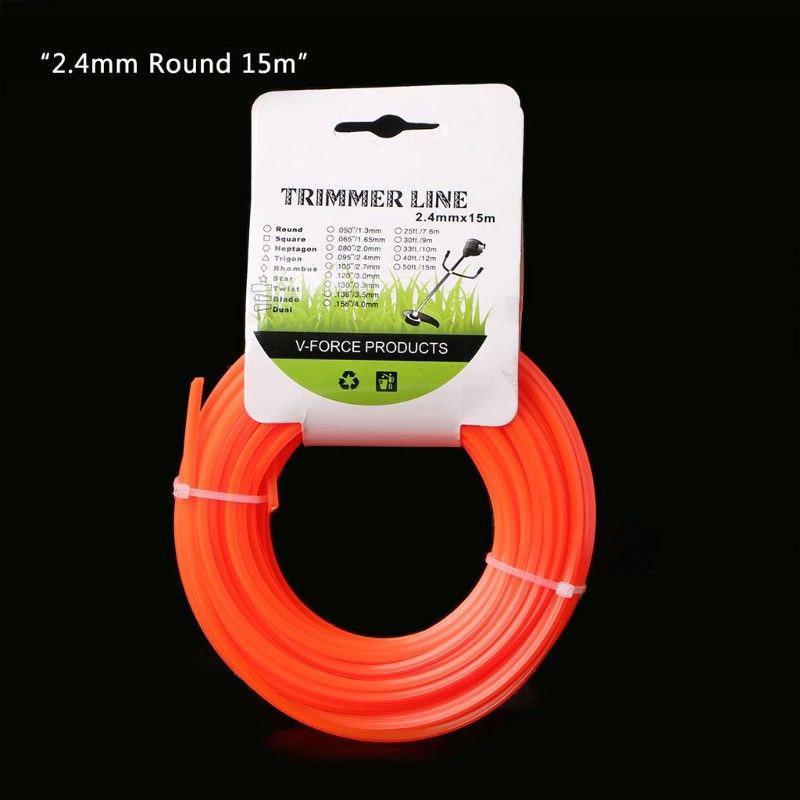 Genuine Stihl 4mm Round Strimmer /& Brushcutter Nylon Line in 10m Cut Length