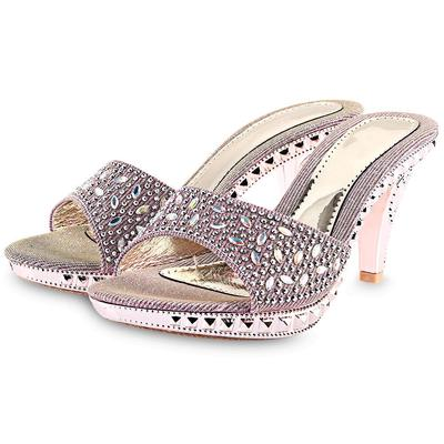 Summer Women Sandals Bling Bling Rhinestones Fashion Sexy High Heels Shoes  Ladies Slippers for Date 11638f785728