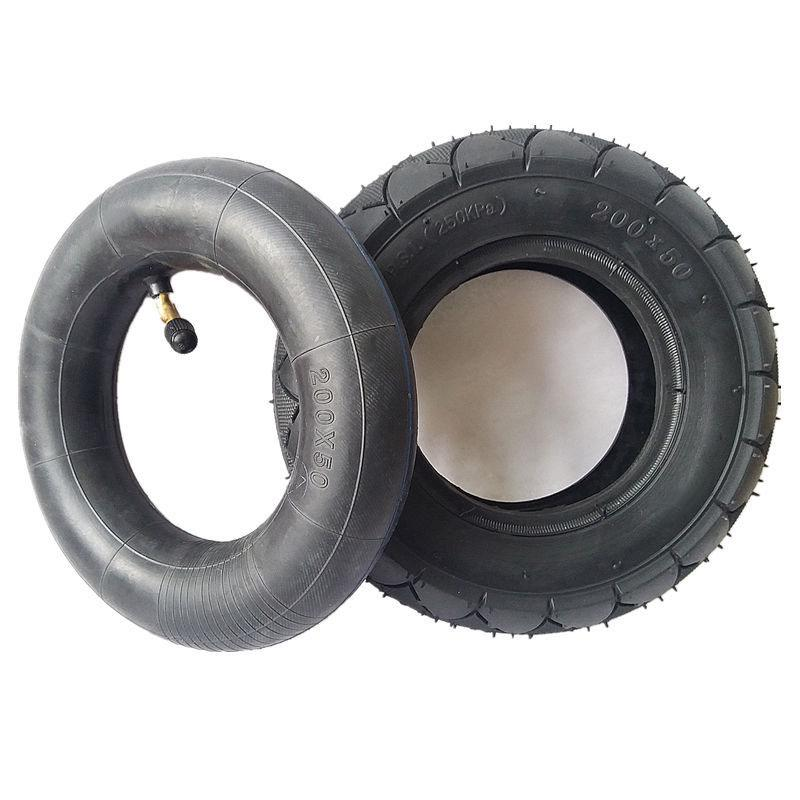 200*50 8 Inch Tire /& Inner Tube Thickened Spare Tires For Electric Scooter