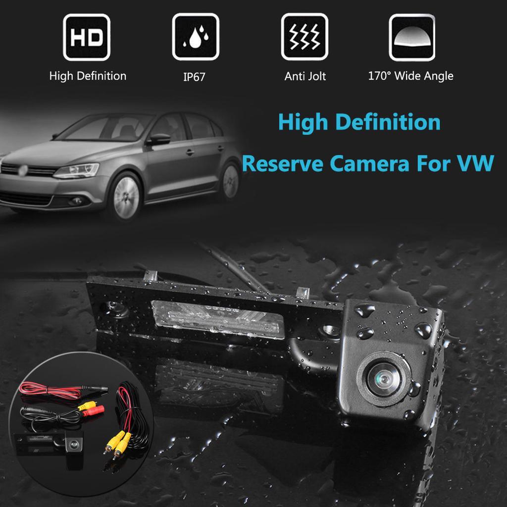 WIRELESS HD Color Car Reverse Mirror Camera for VW Passat Tiguan Lavida Sagitar