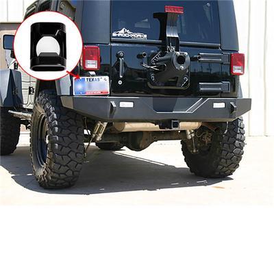 MAIKER License Plate Holder for Jeep Wrangler JK Rear License Plate Frame with JK License Plate Bottle Opener and LED Light Black