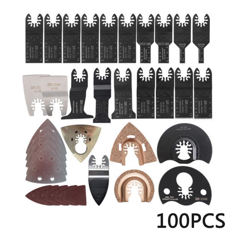 100pcs//set Oscillating Multi Tool Accessories For Black/&Decker Parts Practical