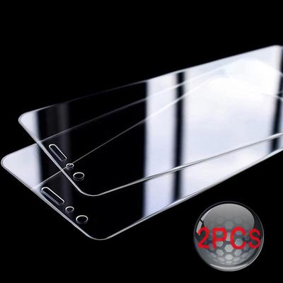Mobile Phone Screen Protectors 2pcs 9H Tempered Glass Protective Film for iPhone Samsung Huawei Xiaomi Nokia Etc