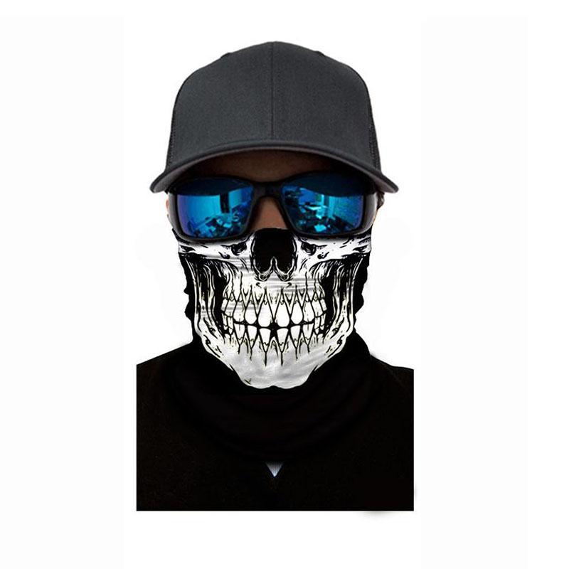 Motorbike Cycling Biker Ski Bandana Scarf Tube Neck Warmer Snood Gaiter Headwear