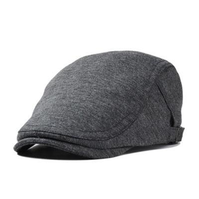 Fashionable Men's Flat Cap Retro Style Sports Newsboy Hats Winter Warm Cotton Beret
