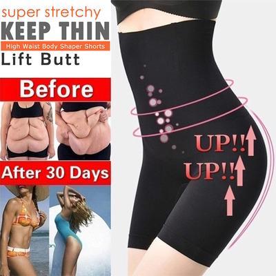 Women Body Shaper Shorts High Waist Tummy Control Pants Shaping Underwear XL-5XL