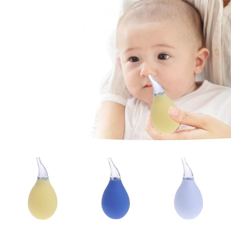 New Born Baby Safety Mucus Runny Vacuum Nasal Aspirator Nose Cleaner Suction