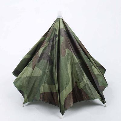 65cm portátil al aire libre deportes casquillo del sombrero de paraguas  manos libres mujeres hombres paraguas 214ec4ea499