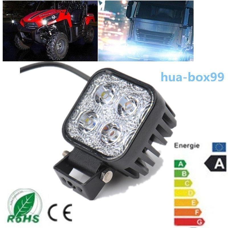 12W 12V-24V Auto LED Lampe Offroad Truck Jeep SUV Flut vor Ort ...