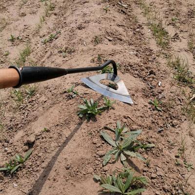 All-steel Hardened Hollow Hoe Handheld Weeding Rake Planting Shovel Vegetable Farm Garden Agriculture Tool Weeding Accessories