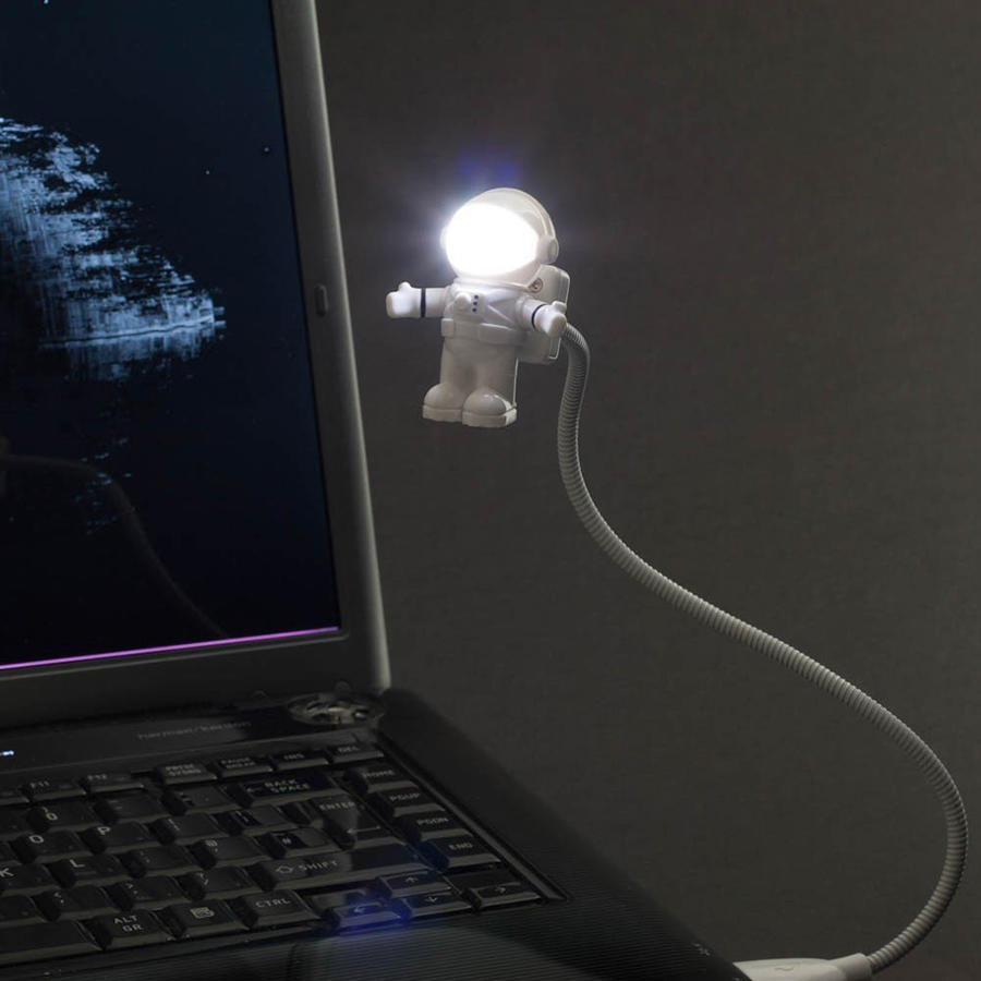 LUCE flessibile USB 3 Lampada A LED SUPER LUMINOSI con Interruttore per PC Notebook Laptop