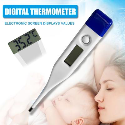 Soft Child Adult Body Digital LCD Thermometer Temperature Silica Gel Measurement