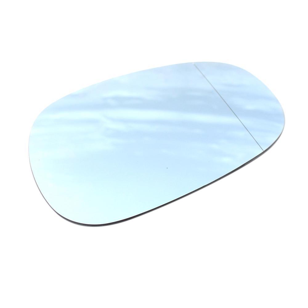 White Heated Wing Door Mirror Glass For BMW E81 E88 E90 E91 E92 116i 2009-2012