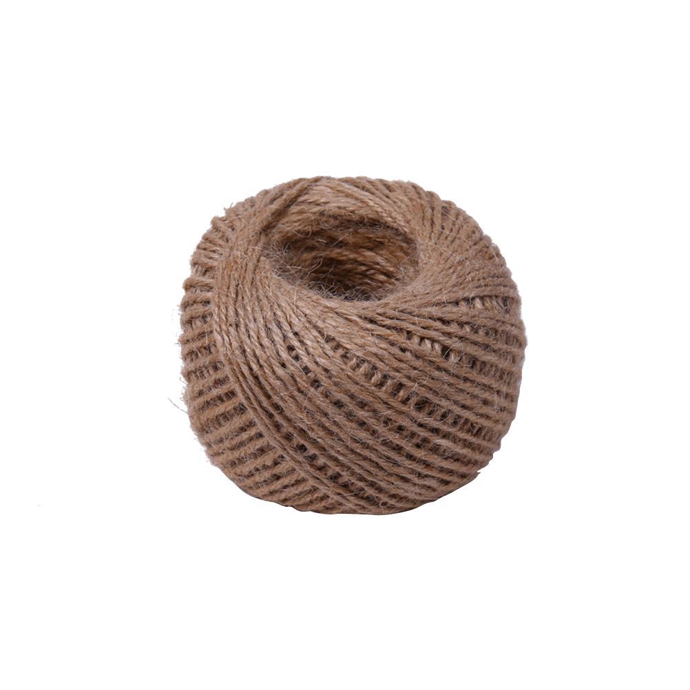 Jute Twine Green Colour DIY Wrap Gift Hemp Rope Cord String 60M Roll QTY 3
