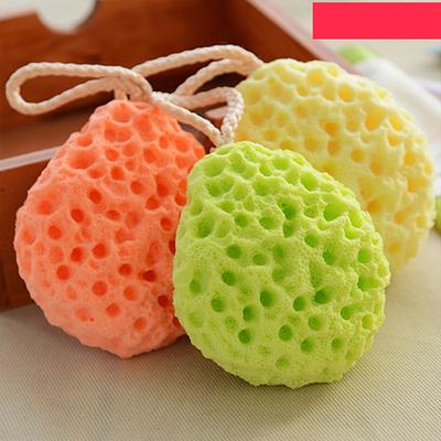 Bath & Shower 1pc Sponge Ball Comfortable Soft Honeycomb Natural Seaweed Washing Supplies Cleaning Ball For Body Face Skin