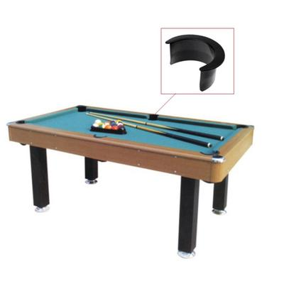 6pcs Set Billiard Pool Table Valley Pocket Liners New Rubber Accessory Hole Gum