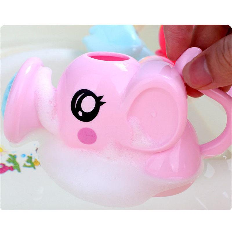 Baby Plastic Cute Whale Water Can Bath Toys Cartoon Newborn Kids Shower Tool ONE