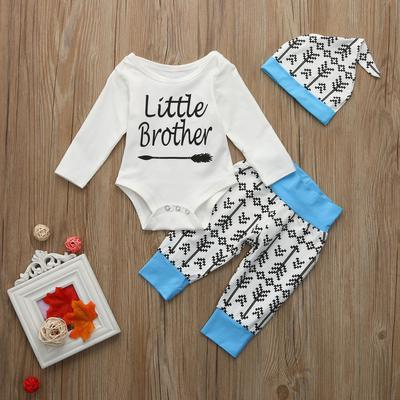 Clothing Sets Mother & Kids New Set Baby Boy Summer Clothes 2pcs Kids Baby Boys Monkey Letter Print Tops+checks Print Pants Outfits Sets