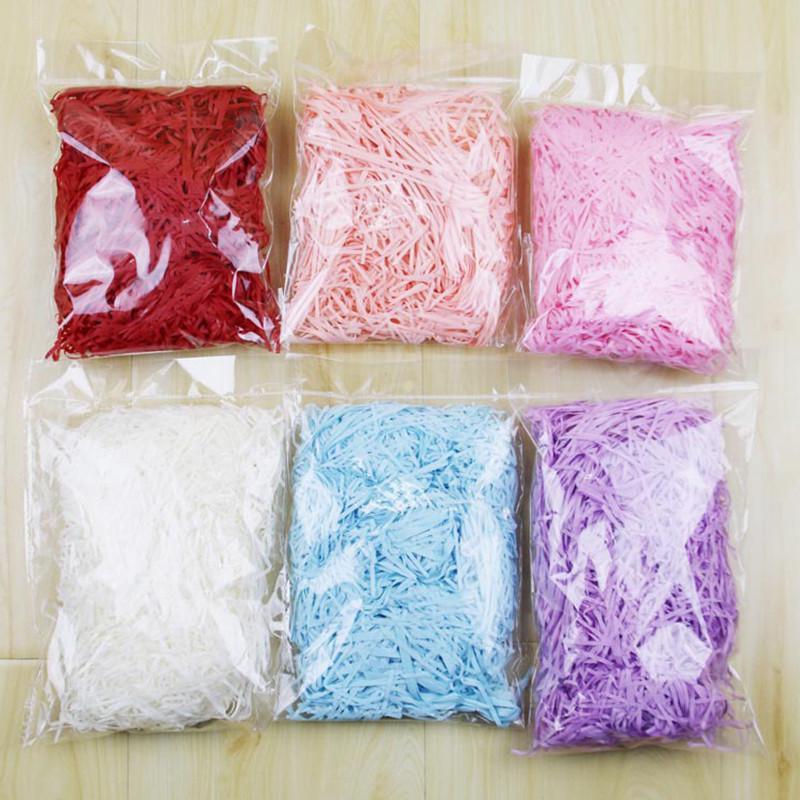 Choose Colour Coloured Tissue Paper Shred Shredded Gift Basket Hamper Box Filler Bedding